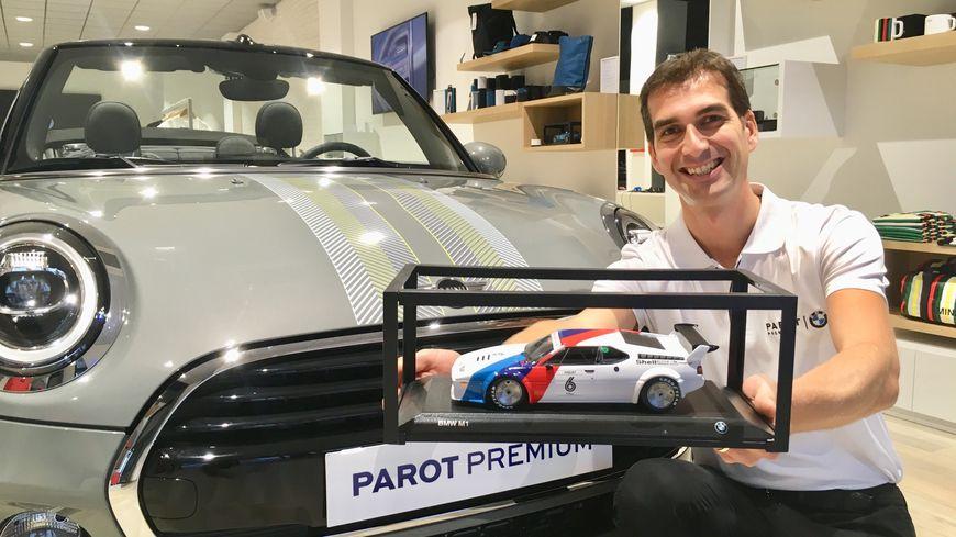 Benjamin Servan : responsable du show room urbain BMW MINI