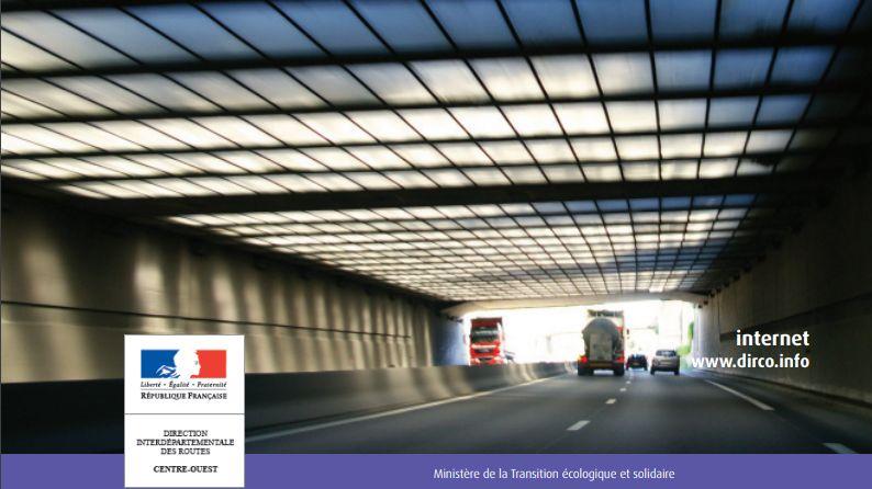Les travaux de réfection de la tranchée couverte de Chastaingt vont durer 3 semaines sur l'autoroute A20, dans la traversée de Limoges