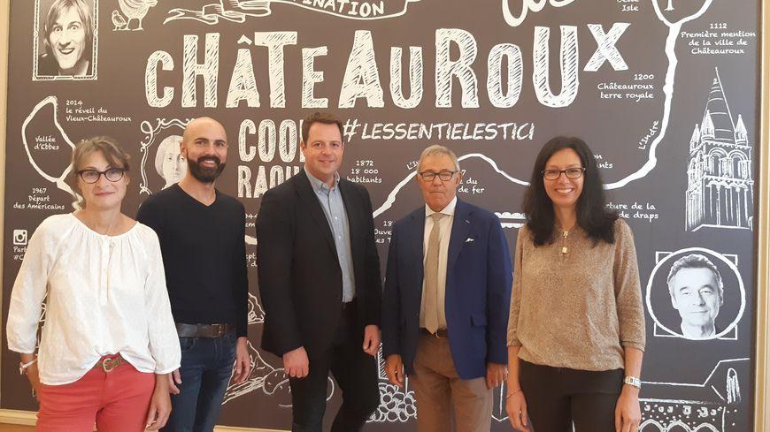 L'équipe Châteauroux Berry Tourisme