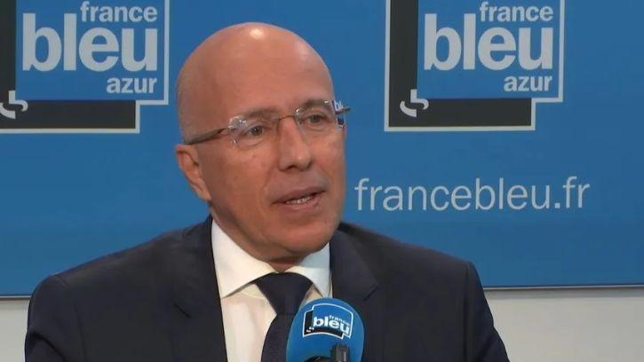 Eric Ciotti dans France Bleu Azur Matin le 13 mai 2019