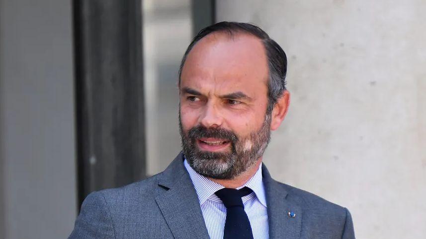 Edouard Philippe s'est rendu sur le site de Lubrizol à Rouen ce lundi.