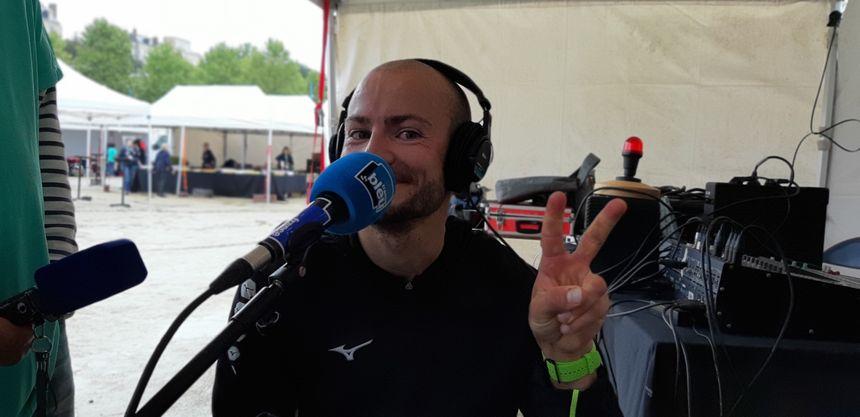 Le vainqueur du marathon des écluses en direct sur France Bleu Mayenne