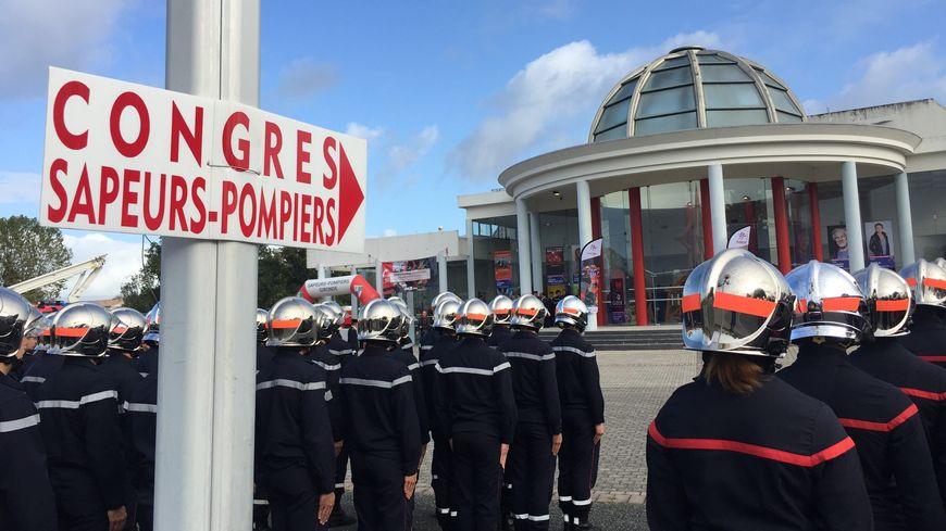 Le congrès annuel de l'union départementale des sapeurs-pompiers de la Gironde avait lieu à Saint-Loubès.