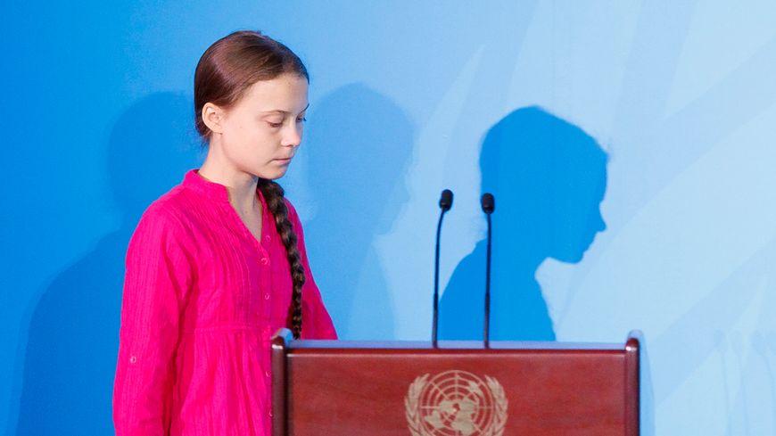 Greta Thunberg au sommet de l'ONU pour le Climat.