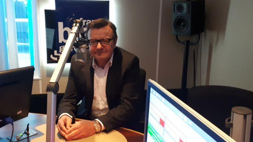 Olivier Jalaguier invité dans les studios de France Bleu Gard Lozère