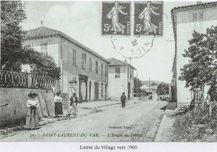 Entrée du Village de St Laurent du Var
