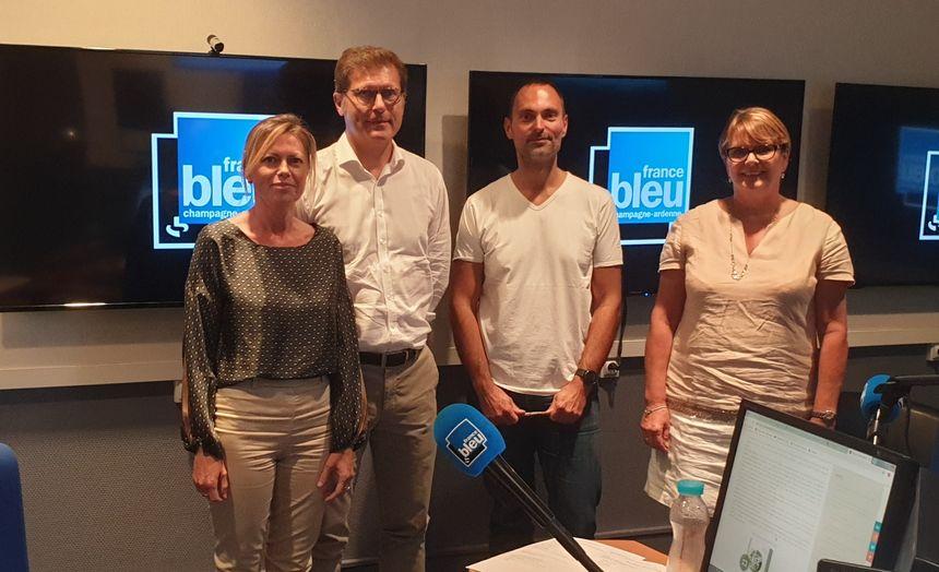 Valérie Hauchart, Thierry Auzole, Olivier Cattiaux, Laurence Geoffroy