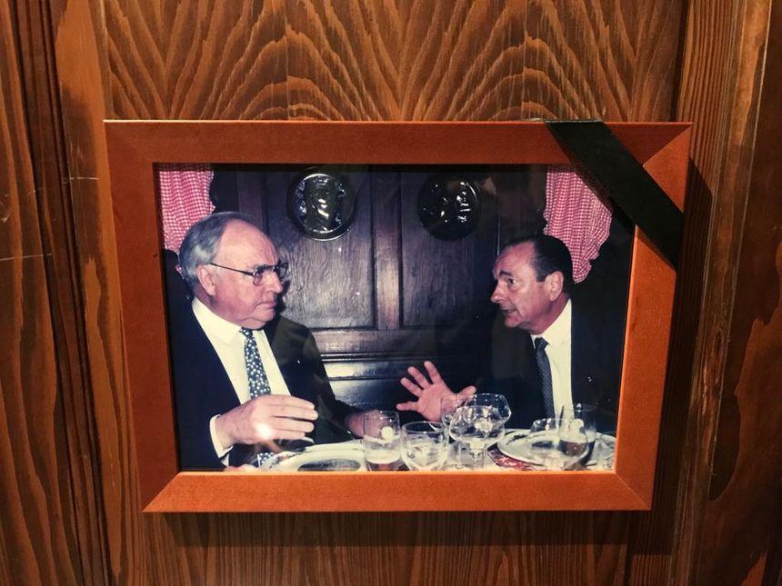 Jacques Chirac et Helmut Kohl