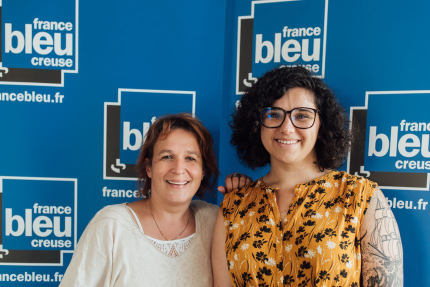 Valérie Trunde et Lisa Mélia, les voix du petit matin sur France Bleu et France 3 en Creuse