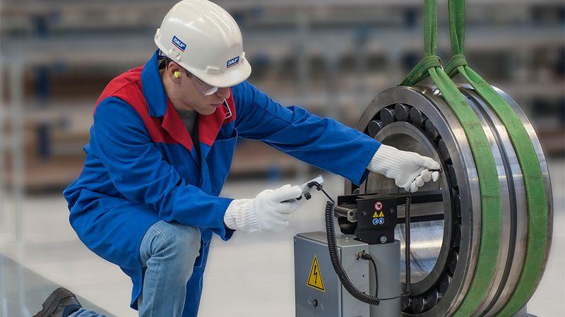 Roulement SKF pour appareil de chauffage par induction