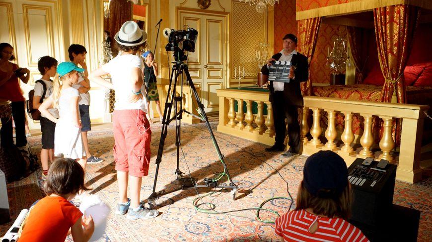 les 50 ans de cinéma au  château d'Hautefort