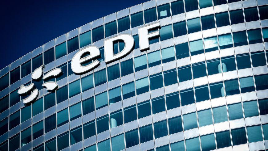 Les locaux d'EDF à La Défense, Puteaux, le 1er juin 2019