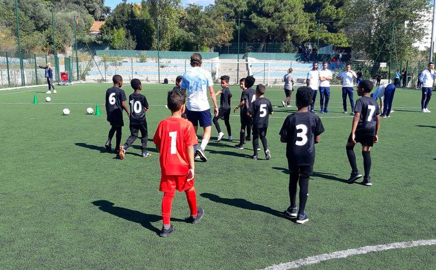 Premier entrainement du FC Castellane