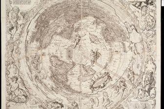 Globus terrestris projectus, par Octavio Pisani 1637