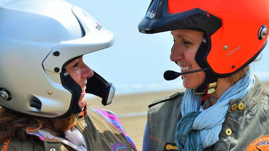 Anne et Nelly, deux catalanes à l'assaut du désert marocain