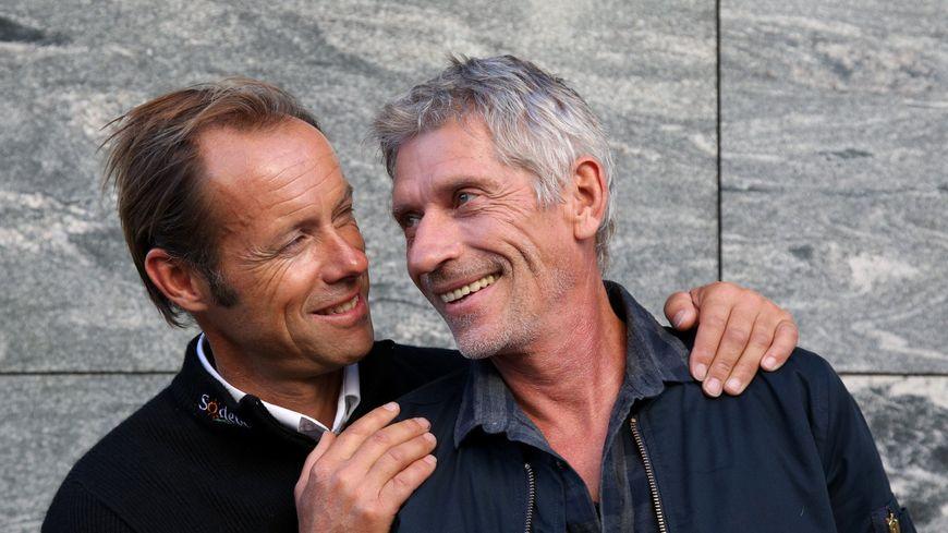 Jacques Gamblin et Thomas Coville