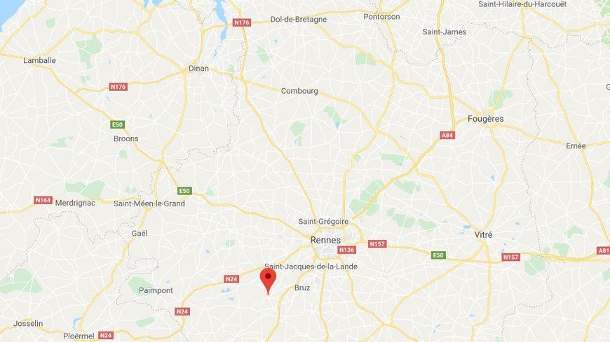 Un radar tourelle a été incendié dans la nuit de jeudi à vendredi à Goven près de Rennes.