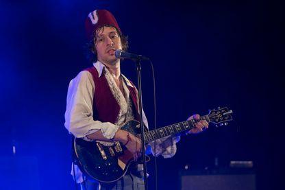 Le chanteur-compositeur Adam Green en concert à Barcelone.