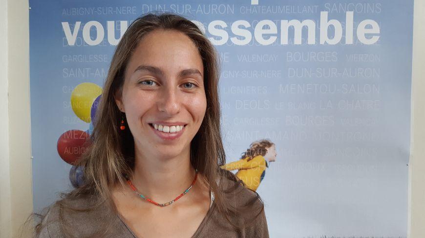 Chloé Hert, animatrice au Groupement de développement de l'agriculture biologique dans l'Indre