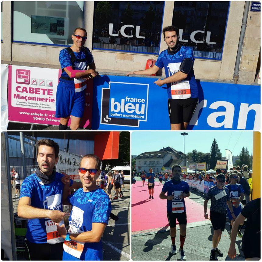 Bertrand Fissot et Emmanuel Peyret, de l'équipe France Bleu !