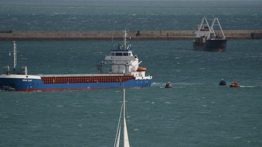 Le cargo EEMS DART était en route vers l'Irlande