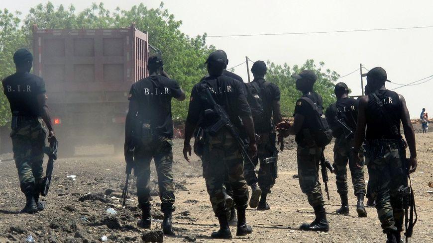 Des soldats du BIR, le bataillon d'intervention rapide, en 2014 au Cameroun.