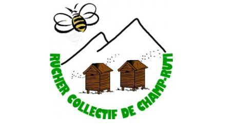 logo du Rucher collectif de Champ-Ruti, à St Martin d'Uriage