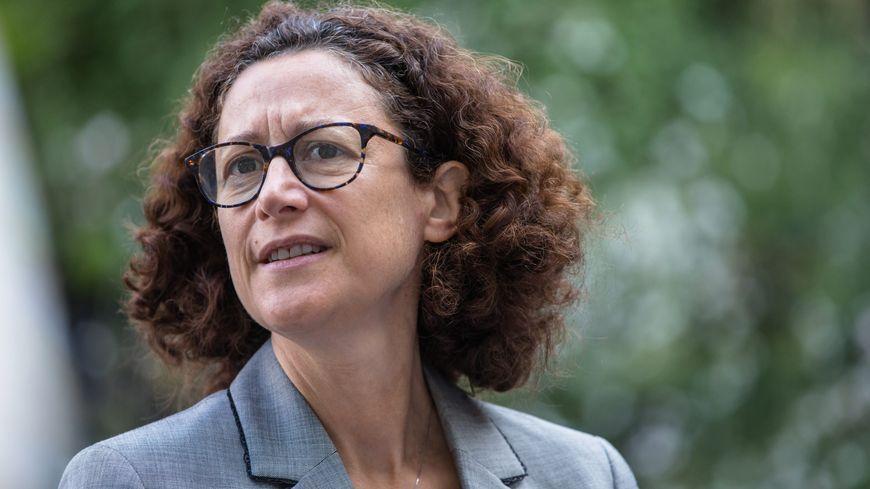 La secrétaire d'état Emmanuelle Wargon