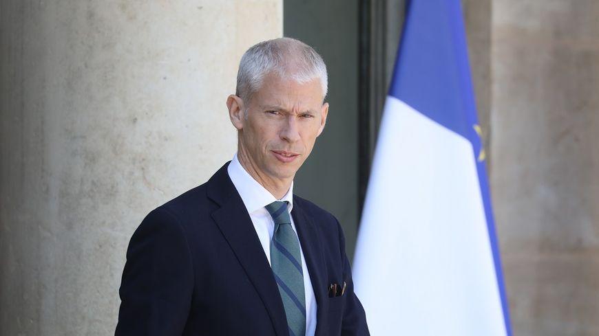Le ministre de la Culture Franck Riester, qui a en charge l'audiovisuel public.