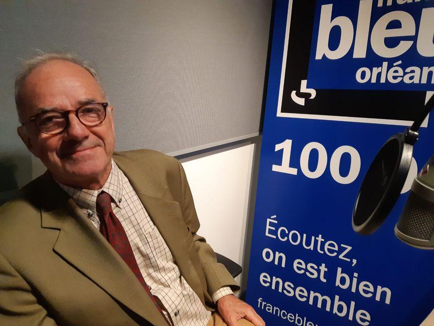 Philippe de Dreuzy, président du syndicat des forestiers privés du Loiret