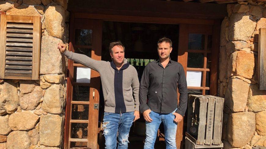 La famille Milanini, propriétaires de la ferme-auberge Pozzo di Mastri à Figari, qui a lancé la boisson Imajyne.