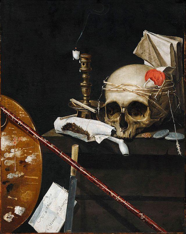 Sébastien Bonnecroy - Vanité, nature morte / Strasbourg Musée des Beaux Arts
