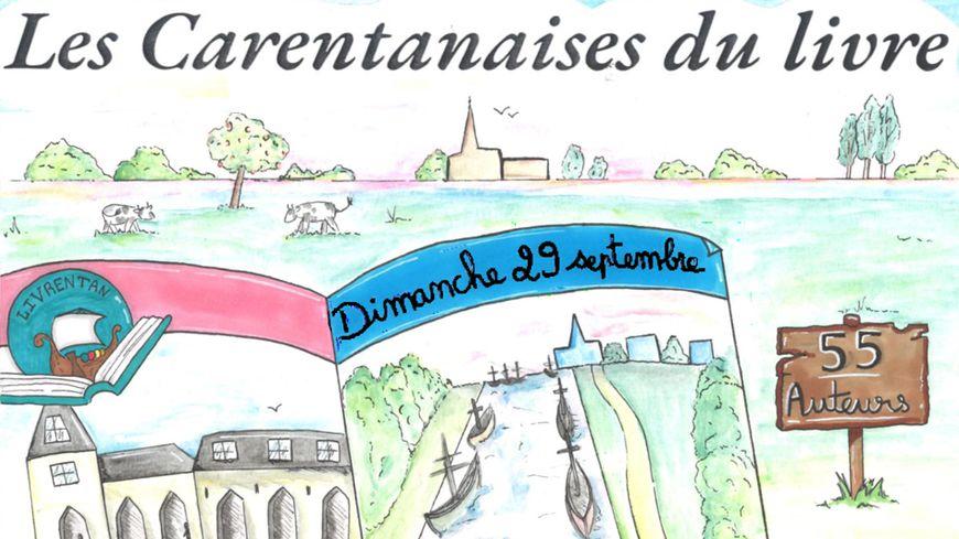 Les Carentanaises du Livre avec France Bleu Cotentin