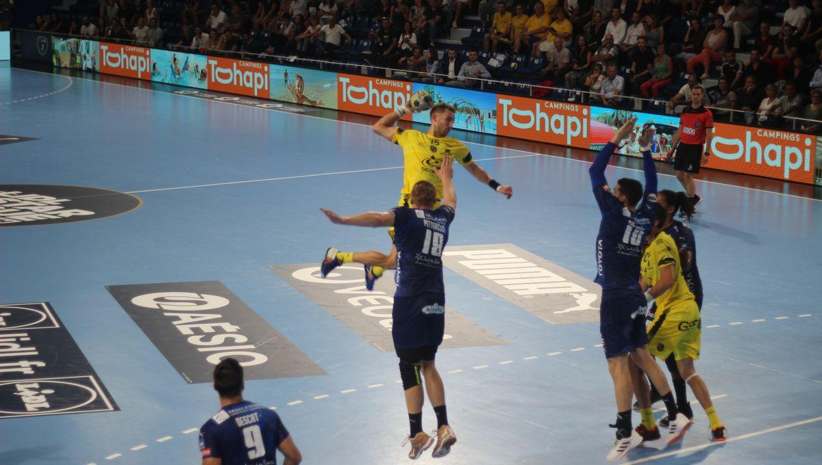 Handball : Chambéry s'incline à Montpellier lors d'un match dantesque (28-27)