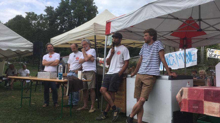 Les habitants ont créé une association pour informer et s'opposer au projet d'une mine à Fontrieu dans le Tarn