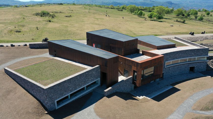 Le Musée Archéologique de la Bataille sur le plateau de Gergovie