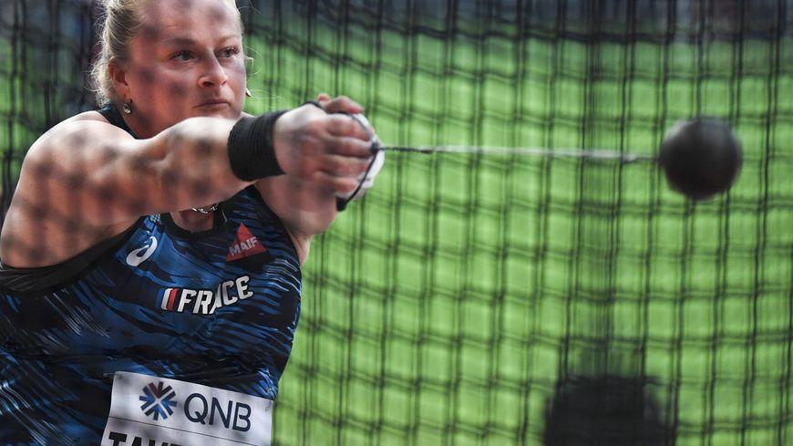 Alexandra Tavernier qualifiée dès son premier lancer