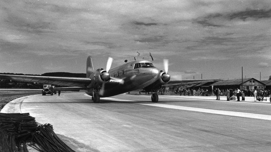 C'est un avion de ce type, un Vickers Viking de la compagnie Air Nautic, qui s'était crashé dans le massif du Canigou