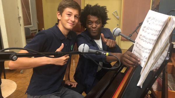 Leçon d'improvisation avec un jeune musicien #2