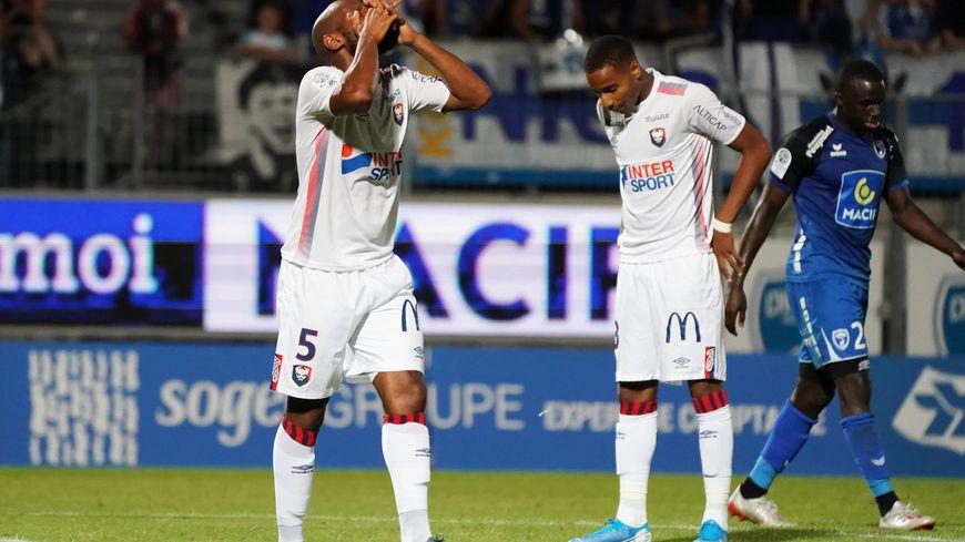 Battu pour la quatrième fois d'affilée, Caen réalise le pire début de saison de son histoire en Ligue 2.