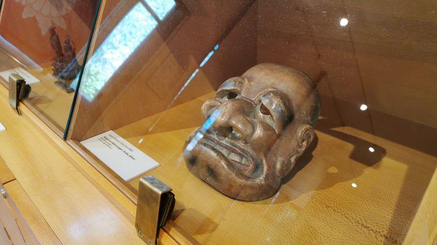 Le masque est exposé au musée Georges-Labit à Toulouse