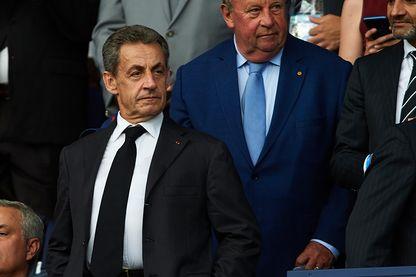 Nicolas Sarkozy à la coupe du monde féminine en juin 2019 au Parc des Princes