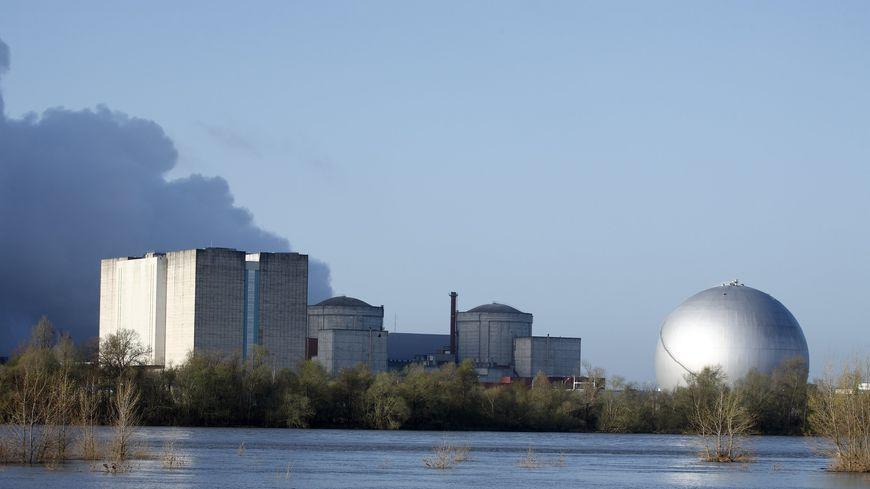 la centrale nucléaire de Chinon