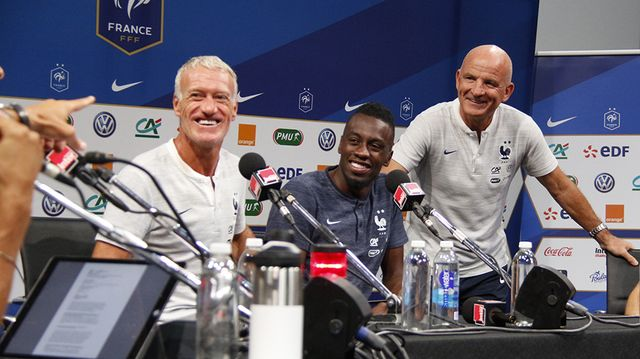 Didier Deschamps, Blaise Matuidi et Guy Stephan