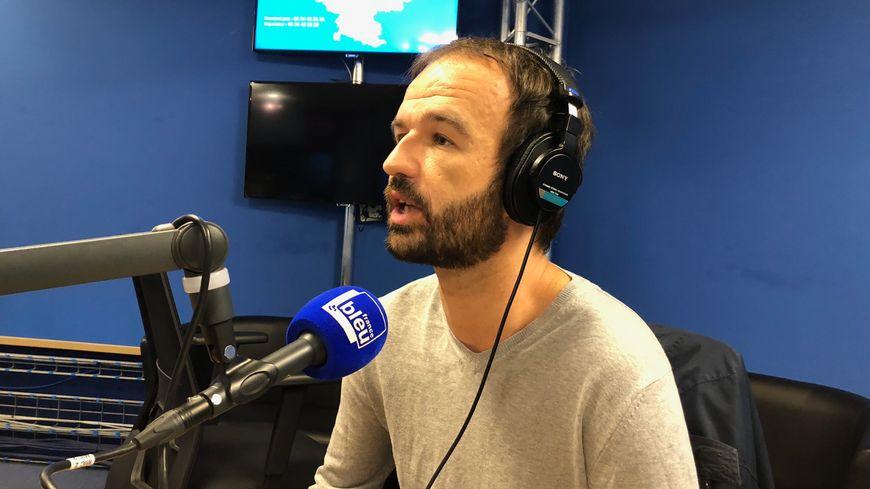 Manuel Bompard, eurodéputé toulousain de la France Insoumise (archives)