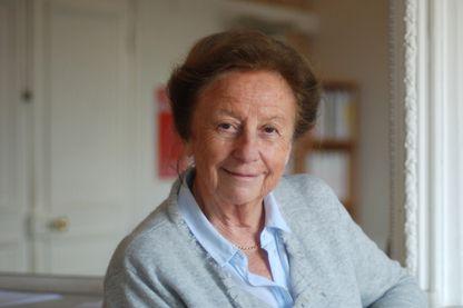 """Portrait de l'historienne Sabine Melchior-Bonnet, spécialiste de l'histoire des sensibilités et auteure de """"Les revers de l'amour, une histoire de la rupture"""" (Puf)."""
