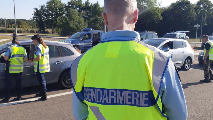Contrôle routier des gendarmes (illustration)