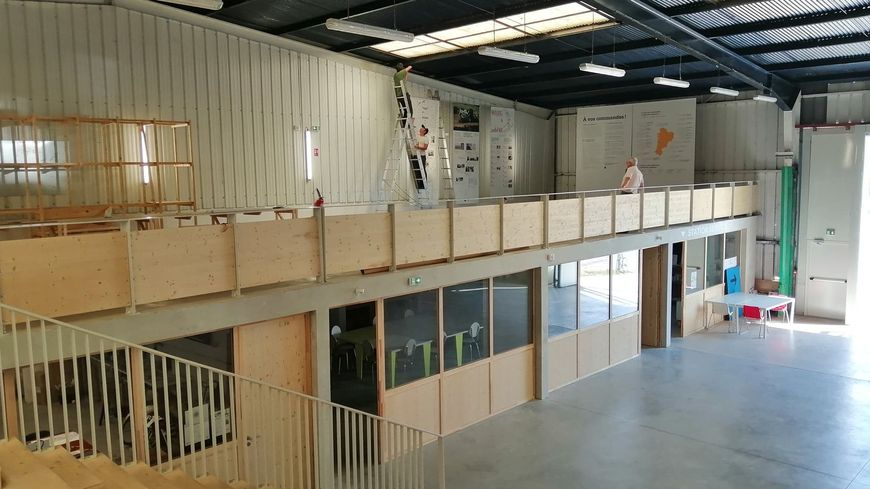 Fabrique Pola Quai de Brazza à Bordeaux