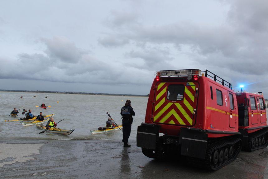 Lors des week-ends de grandes marées, le risque d'accident augmente. Les forces de l'ordre et les pompiers redoublent de vigilance