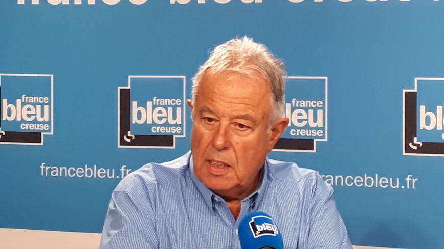 Jean Auclair, maire de Cressat et ancien député RPR de la Creuse
